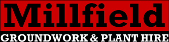 Millfield Groundworks & Plant Hire Logo